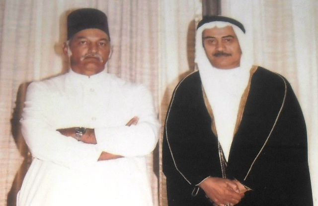 Janab Late Shareef Mohmammed Advocate with H.E.H Mukarram Jah